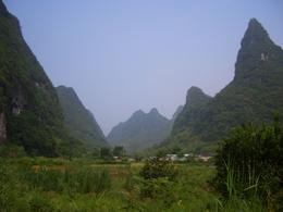 Karst mountains on Yangshuo - May 2012