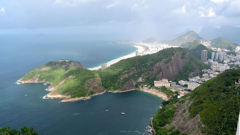 On top of Sugarloaf - Rio de Janeiro