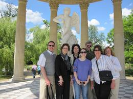 This is our group outside the Petits Apartments., Karen D - June 2010