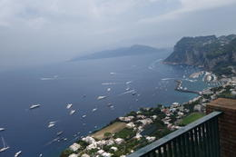 Photo of Capri from our tour bus. , Nadine - September 2014