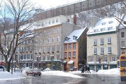 Taken in lower Quebec City., Steve W - February 2009