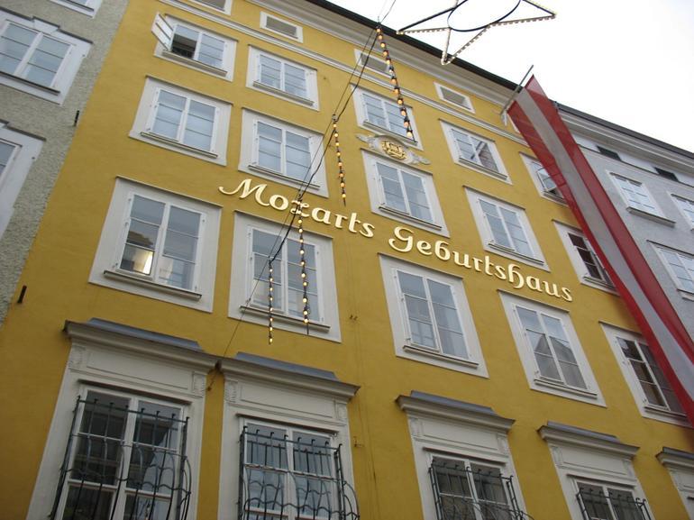 Mozart's house, Salzburg - Vienna