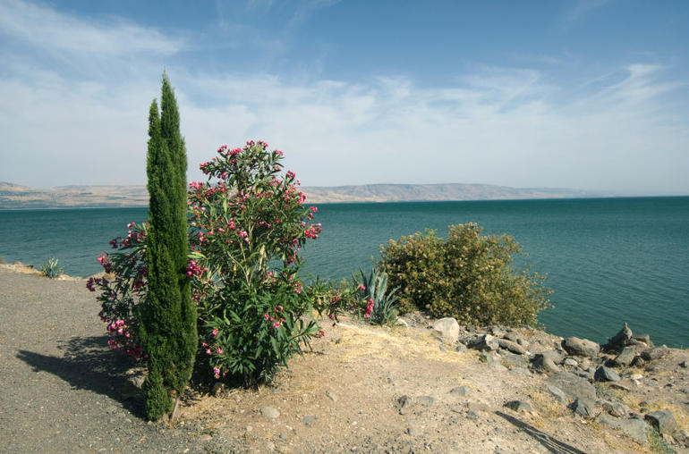 Sea of Galilee, Jerusalem. - Tel Aviv