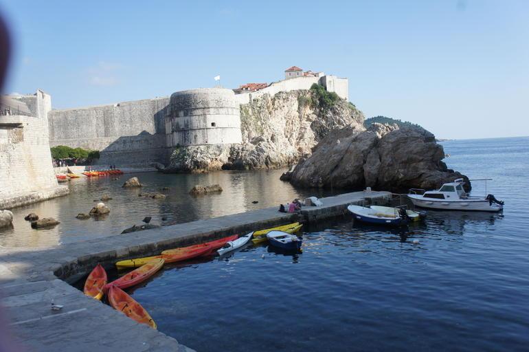 Set off point. - Dubrovnik