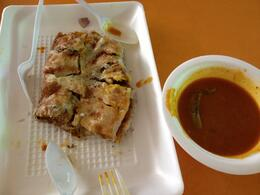 Halal martabak - so good!, Cat - August 2013