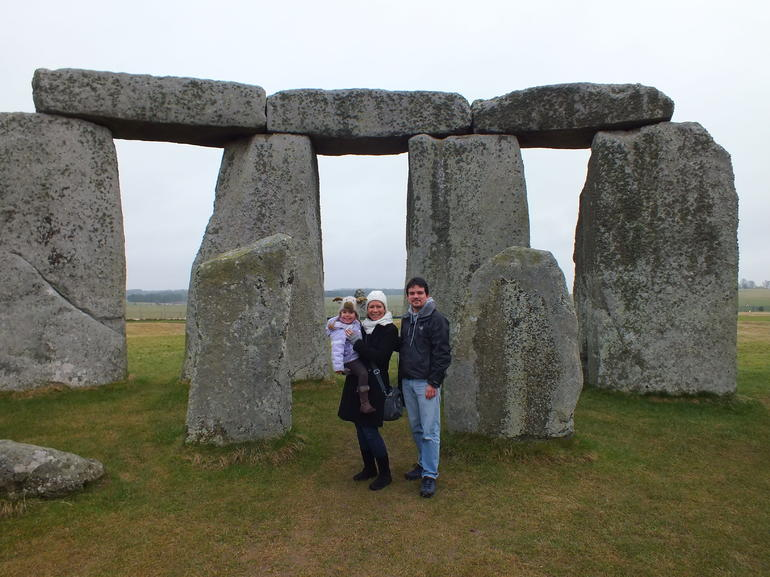 Stonehenge - The inner circle - London