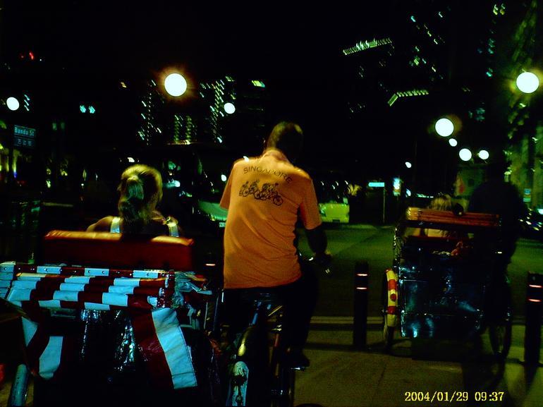 Trishaw in Chinatown - Singapore