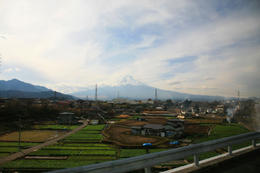 On a bus ride to 5th Station gives this great view of Mt Fuji. , Curtis M - December 2010
