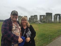 Us at Stonehenge. , Sherri Brown Bell - October 2016