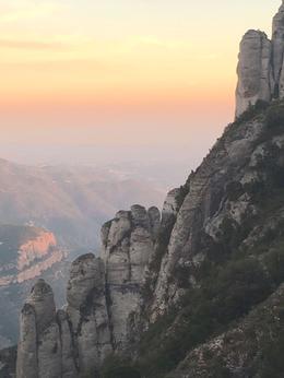 Golden light on the valley outside Montserrat. , Timothy C - January 2017