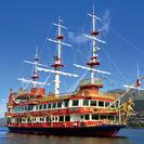 Escapada de un día al Monte Fuji: Barco pirata en el lago Ashi, 5ª estación del Monte Fuji y Gotemba Premium Outlets con almuerzo incluido, Tokyo, JAPON