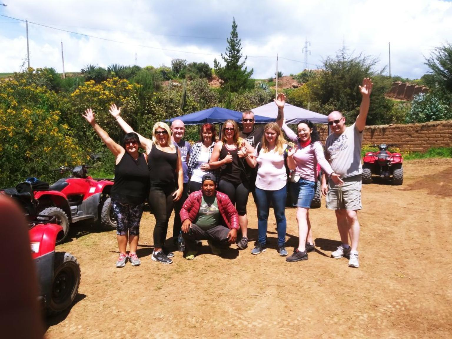 MORE PHOTOS, ATV Quad Bike Tour to Moray Maras and Salt mines from Cusco