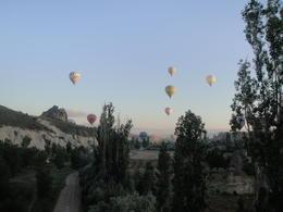 Cappadocia balloon ride, Blanca - January 2013