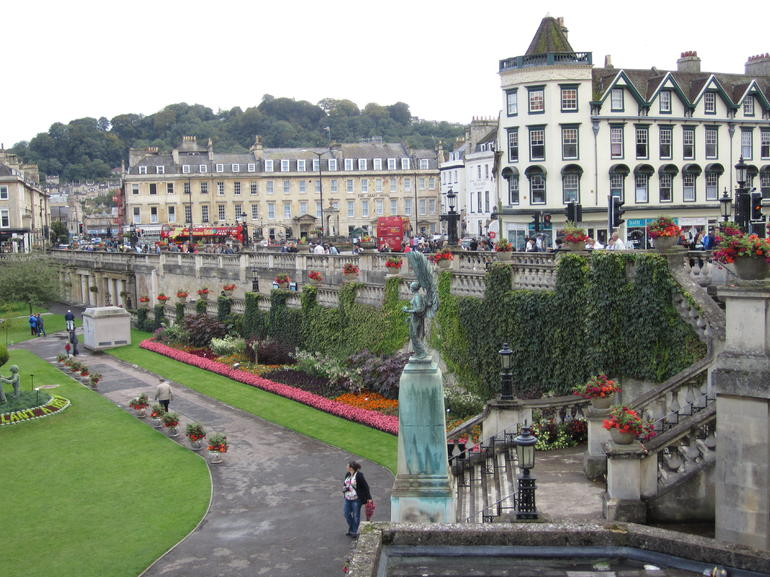A park in Bath - London