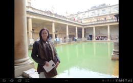 Passeio nas Termas Romanas de Bath. Lugar lindo! , Neliane T - September 2014
