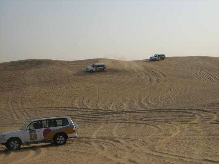 Driving on the Dunes - Dubai