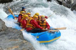 Class 5 rapids!, Robin B - April 2009