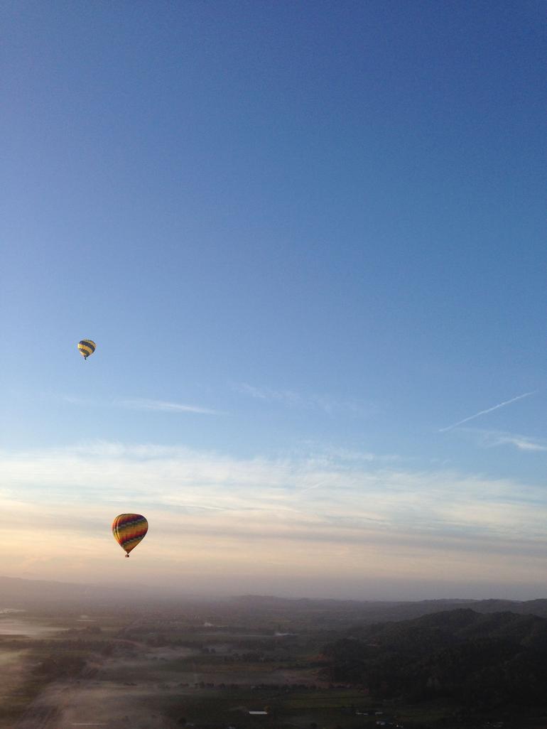 One of many spectacular views - Napa & Sonoma