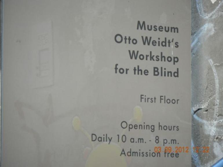 Otto Weid's workshop for the blind - Berlin