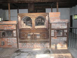 These are the ones in the larger crematorium - they aren't sure that they were used during the war...regardless, it gives you chills. , Rodney R - October 2011