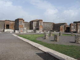 The ruins in Pompeii , Julie L - May 2011