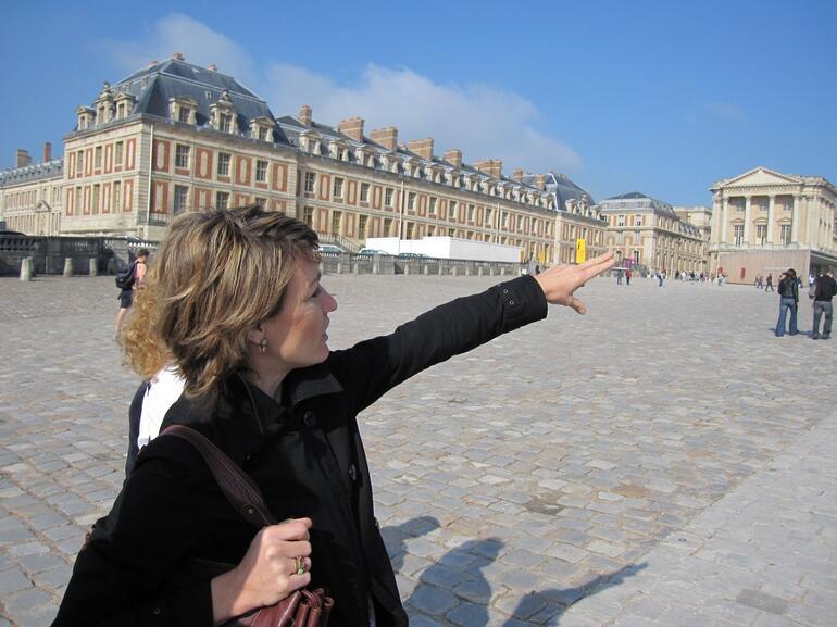 Sophie our guide - Paris