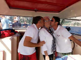 Pepe` and Fabio were so sweet to my mom! , Kathy V - October 2014