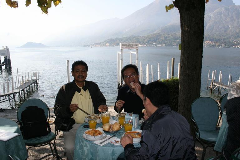 The delicious spaghetti of Lake Como -