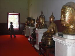 The shrine of Wat Mahathat - March 2013