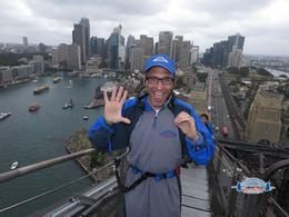 Celebrating turning 50 by Climbing the Sydney Harbor Bridge! , rtotoj - January 2017