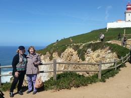 Sheri and Jody overlooking the westernmost point in Europe. , sheryl i - June 2017