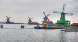 Zaanse Schans Windmills , Richard S - September 2017
