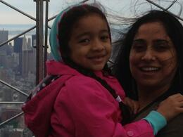 Nikki and Sohni on top of the Empire State Building. , Clifton P - June 2013