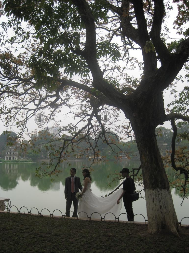 A wedding by the lake - Hanoi