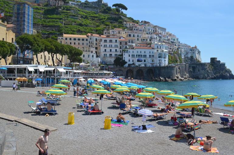 Amalfi beach - Rome