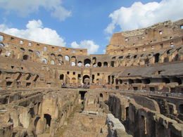 A great way to start the day in Rome....an 8.30am tour of the Colosseum. , Carolyn D - August 2016