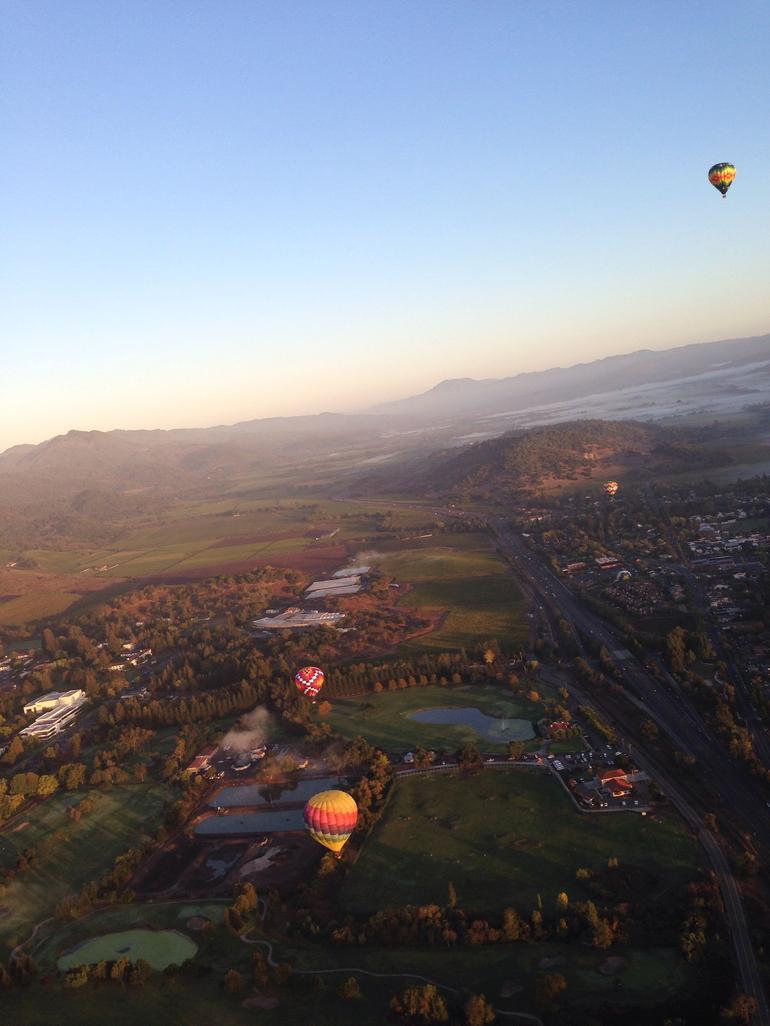 Bird's eye view - Napa & Sonoma