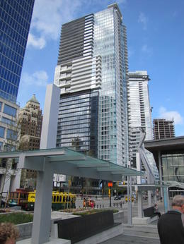 Building in downtown Vancouver , Serge H - May 2011