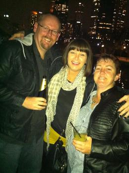 Ian, Vicki and Margie , Ian F - June 2012