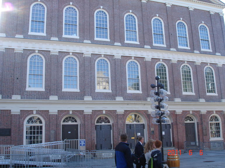 Faneuil Hall, north side - Boston