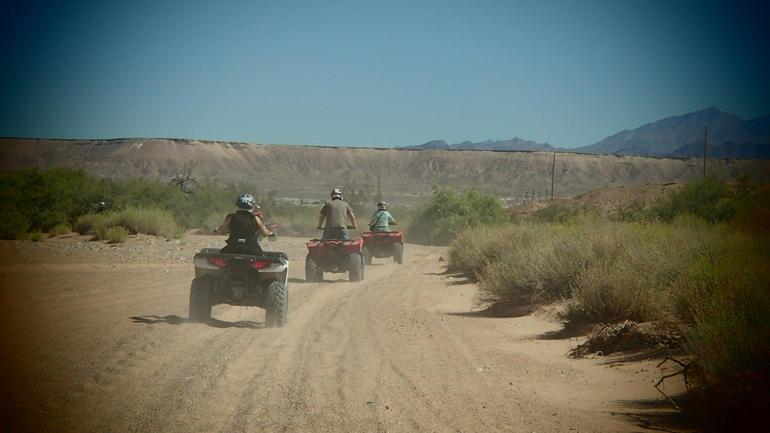 Fun in the dirt - Las Vegas