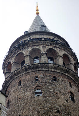 A view of the Galata Tower , Prezzman - June 2014