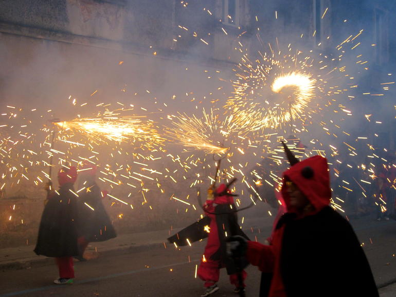 Experience Catalonia: Correfoc Fire Running Festival Experience from Barcelona photo 15
