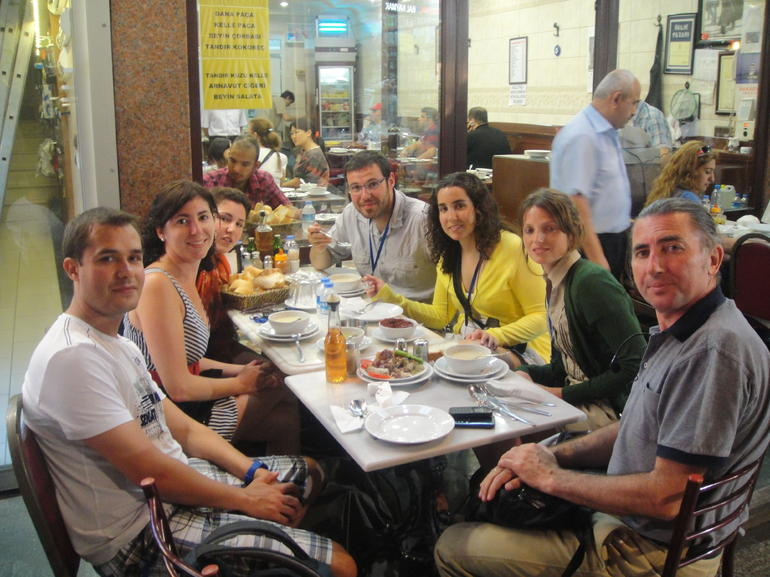 Istanbul by Night: Turkish Food Tour - Istanbul