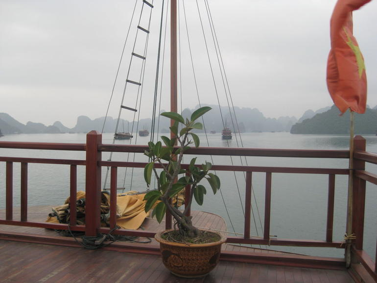 Misty view of Halong Bay - Hanoi