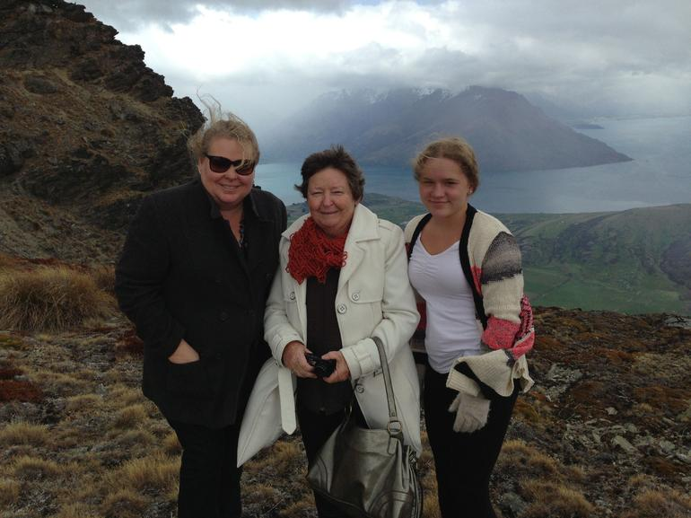 Mums 70th birthday on top of The Remarkables - Queenstown