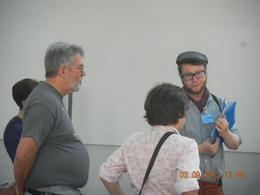 Getting some explanations on the jewish life before WW2 , Leon - September 2012
