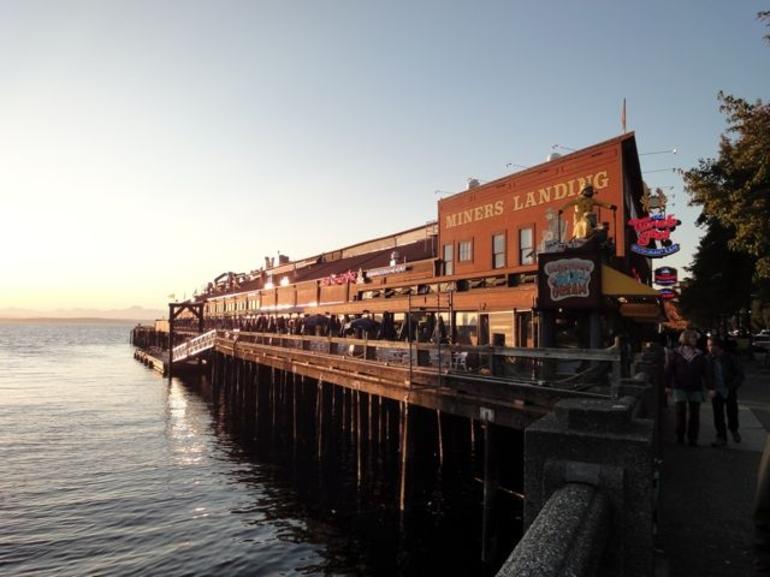 Pier 57 on Seattle Waterfront - Seattle