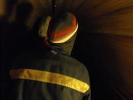 Entering the salt mine on tiny train - March 2010