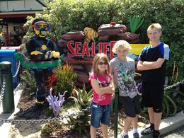 At Legoland California - April 2012